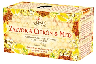 Zázvor & Citrón & Med