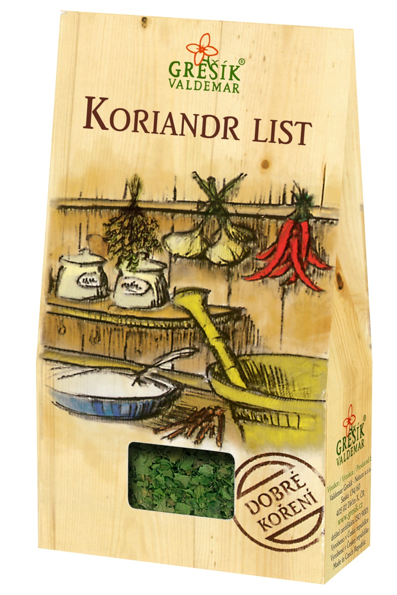 Grešík Koriandr list 20 g