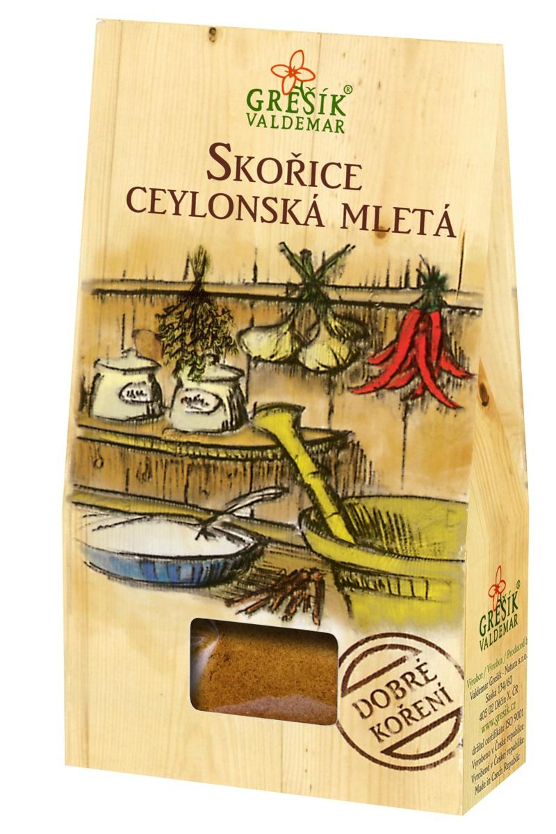 Grešík Skořice ceylonská mletá 50 g