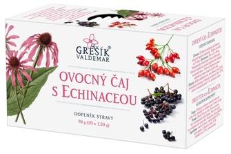 Ovocný čaj s echinaceou