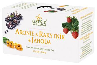 Aronie & Rakytník & Jahoda